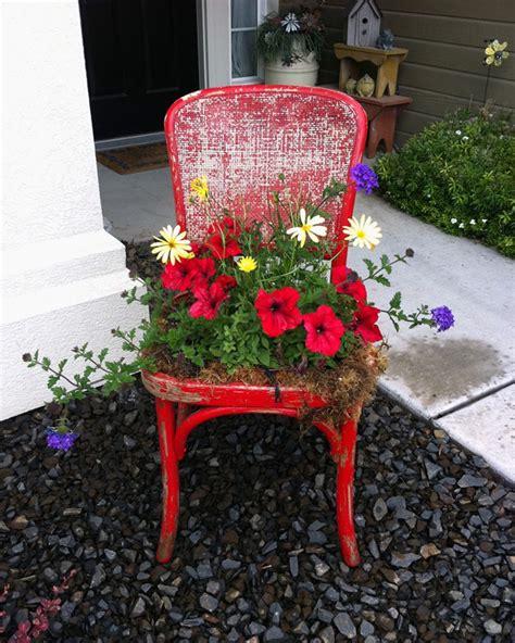 sedie da giardino fai da te giardino fai da te idee decorative per un angolo di casa