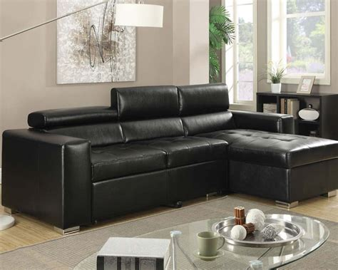 pull out bed sectional sectional sofa w pull out bed aidan by acme ac51640