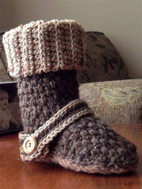 free crochet slipper boot pattern 10 diy free patterns for crochet slipper boots 101 crochet