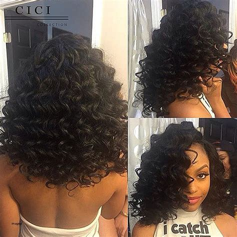 wet and wavy hair black women wavy weave short hairstyles best short hair styles