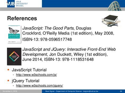 javascript tutorial hands on javascript and jquery web technologies 1019888bnr