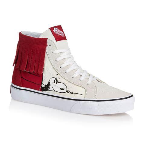 Sepatu Vans Sk8 Peanuts vans x peanuts sk8 hi moc shoes house bone free