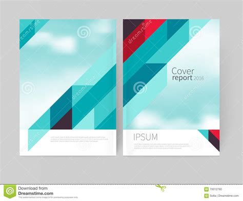 cover layout design vector flyer or brochure cover design abstract illustration