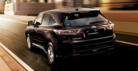 Home Interior Design Malaysia 2014 toyota harrier details revealed 2 0 or 2 5 hybrid