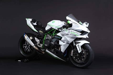 White Kawasaki by 2016 Kawasaki H2r In White Livery Is The Of