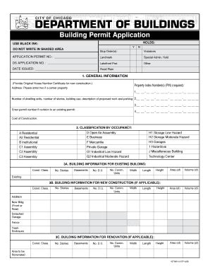City Of Building Permit Search By Address Buildings Permit Fill Printable Fillable Blank