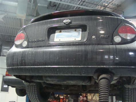 nissan maxima flex pipe and catalytic converter replacement