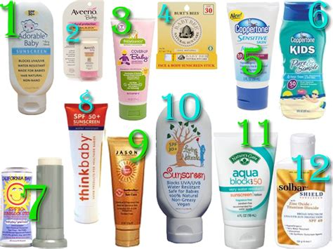 8 Best Sunscreens For The Ultimate Protection by Ewg Sunscreen Guide 2012 Best For Baby And A Giveaway