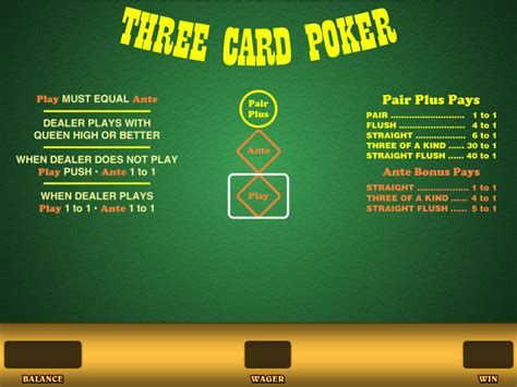 card poker  real money   wizard  odds