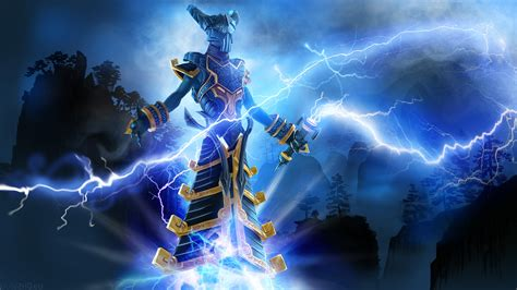 wallpaper background dota 2 razor razor golden thunderer dota 2 wallpapers