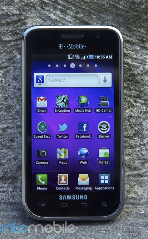 samsung galaxy 4g t mobile t mobile galaxy s 4g review with android 2 2 froyo