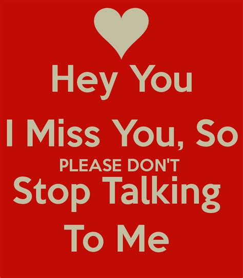 please stop talking about me quotes
