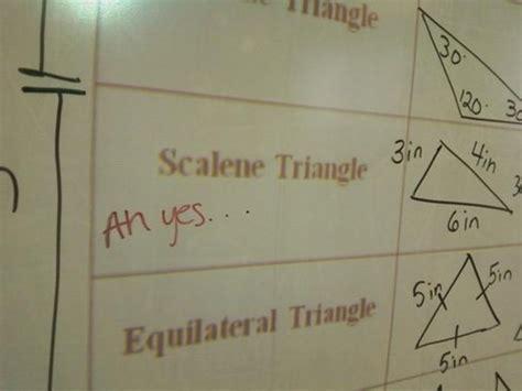 Scalene Triangle Meme - image 403188 ah the scalene triangle know your meme
