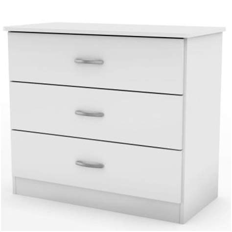 South Shore Libra Dresser by South Shore Furniture Libra 3 Drawer Chest In White