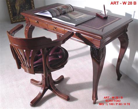 seduta d arte divani prezzi w 28 scrittoio massello e poltroncina girevole