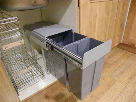 sink garbage pull out pull out kitchen waste bin sink cabinet