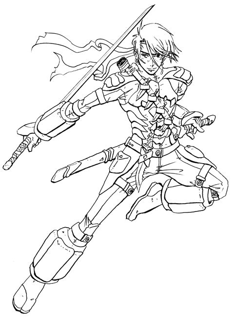 anime ninja coloring pages ninja art request by kougen on deviantart