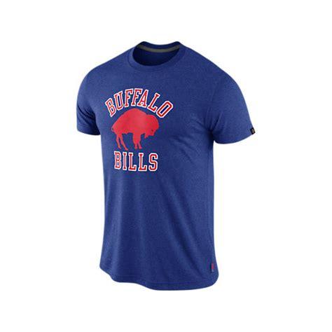 nike mens shortsleeve buffalo bills tshirt in blue for