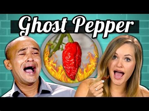 adults vs food ghost pepper challenge