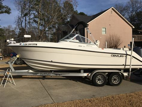 century boats dual console 2008 century 2350 dual console with yamaha f250 four
