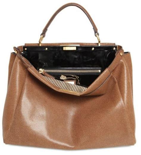 Limited Fendi Peek A Boo 23cm Original Leather Rp 4750000 2 fendi large peek a boo python bag designer handbags