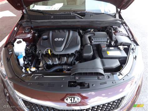 Kia Gdi Engine 2013 Kia Optima Ex 2 4 Liter Gdi Dohc 16 Valve 4 Cylinder