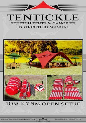 10m x 7.5 open setup 10m x 7.5 open setup – stretch tents