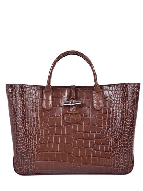 Croco Bag by Longch Handbag Roseau Croco Best Prices