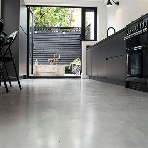 concrete kitchen flooring 25 best ideas about concrete kitchen floor on