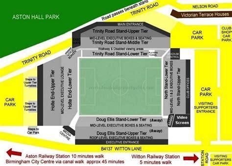 Layout Of Villa Park Stadium | villa park aston villa fc football ground guide
