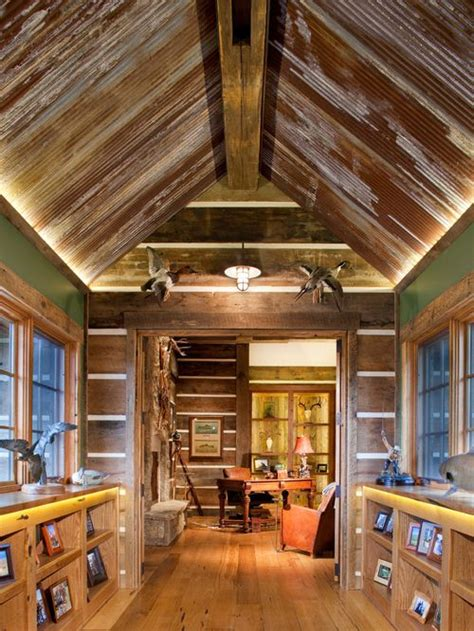rustic tin ceiling rustic tin ceiling houzz