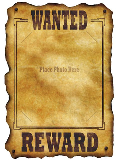 wanted poster templates cazenovia middle school art