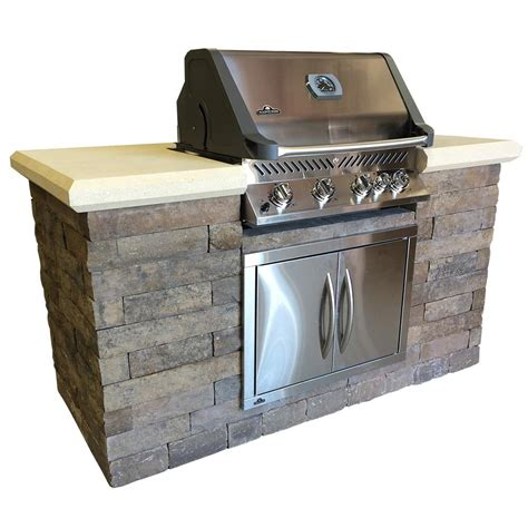 backyard grill 5 burner propane gas grill cal flame gourmet series 4 burner built in stainless steel