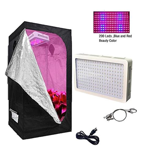 led grow light kits best grow box kits for beginners that won t the bank