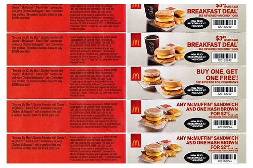 mcdonalds coupons nova scotia