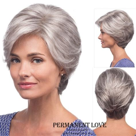 elderly long hair french bun wig wigs for the elderly short hairstyle 2013