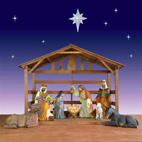 best 28 outdoor creche outdoor nativity stable