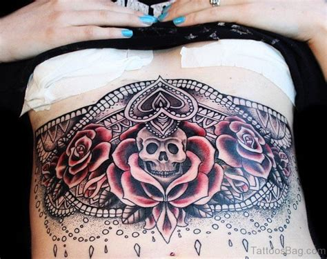 rose tattoos on the stomach 25 ultimate stomach tattoos