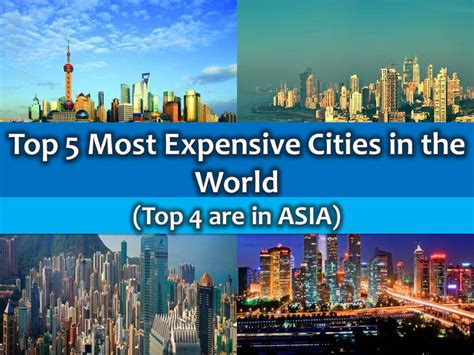 top 5 most expensive coca the top 5 most expensive cities in the world top 4 are in