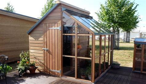 Half Shed Half Greenhouse 127 best ideas about sheds greenhouses on