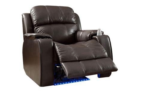 power massage recliner brown power massage recliner at gardner white