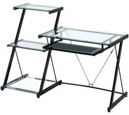 Z Line Corner Desk Z Line Glass Computer Desk For Home Office