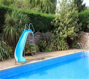 slide for above ground pool