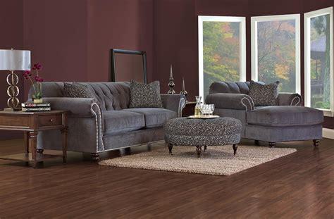 Olinde S Furniture by Klaussner Flynn Stationary Living Room Olinde S
