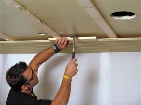 How To Hang Tongue And Groove Ceiling by Installing Tongue And Groove Ceiling 171 Ceiling Systems