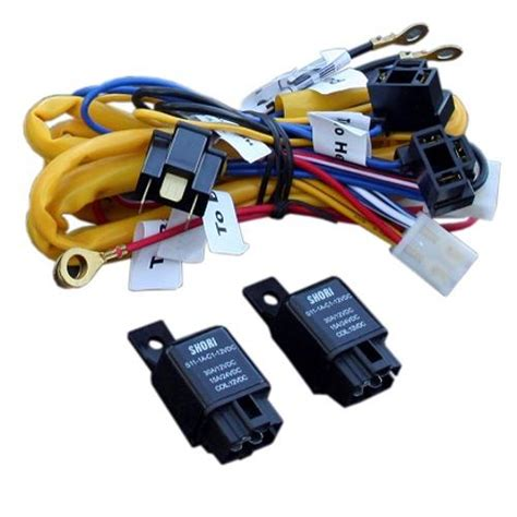 Heavy Duty Headlight Conversion Harness W Relays Each Toms Bronco Parts