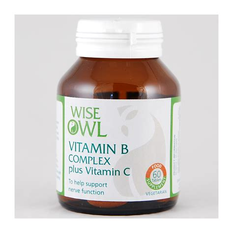 Vitamin B Complex Plus wise owl vitamin b complex plus 60 tablets feelunique