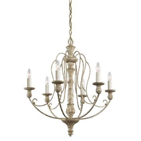 Distressed Antique White Hayman Bay Single Tier Mini Chandelier With 4 Lights Walmart Antler Chandeliers Rustic Chandeliers For Lodge Or Cabin Bellacor