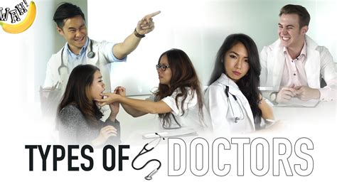 what kind of doctor is house types of doctors youtube