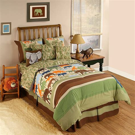 jungle bedding set pin safari jungle bedding on pinterest